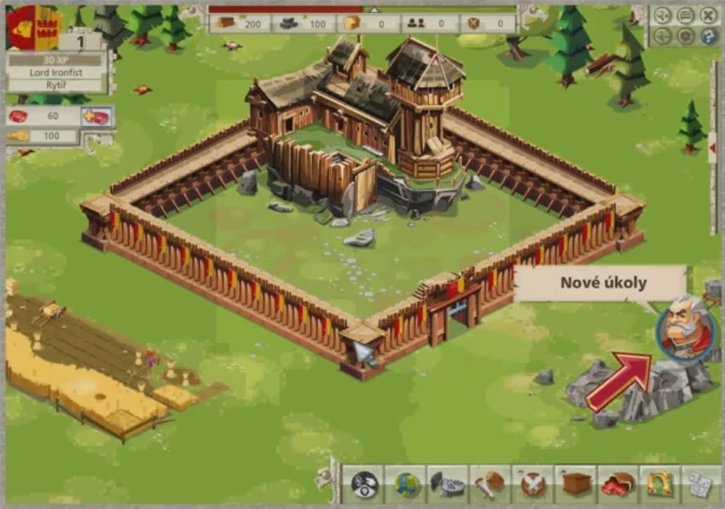 Vybudujte silný hrad v Goodgame Empire