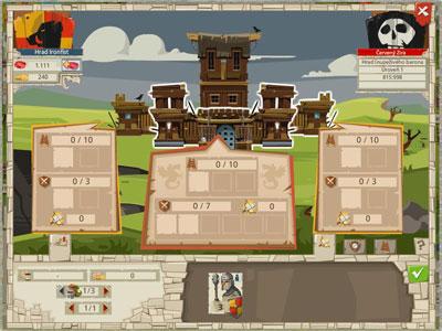 Goodgame Empire útok na hrad
